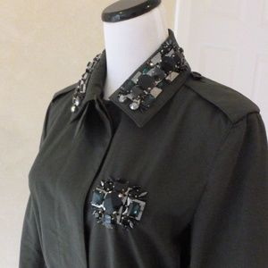 Burberry Jackets & Coats - Burberry Prorsum Embellished Trench Made in Italy